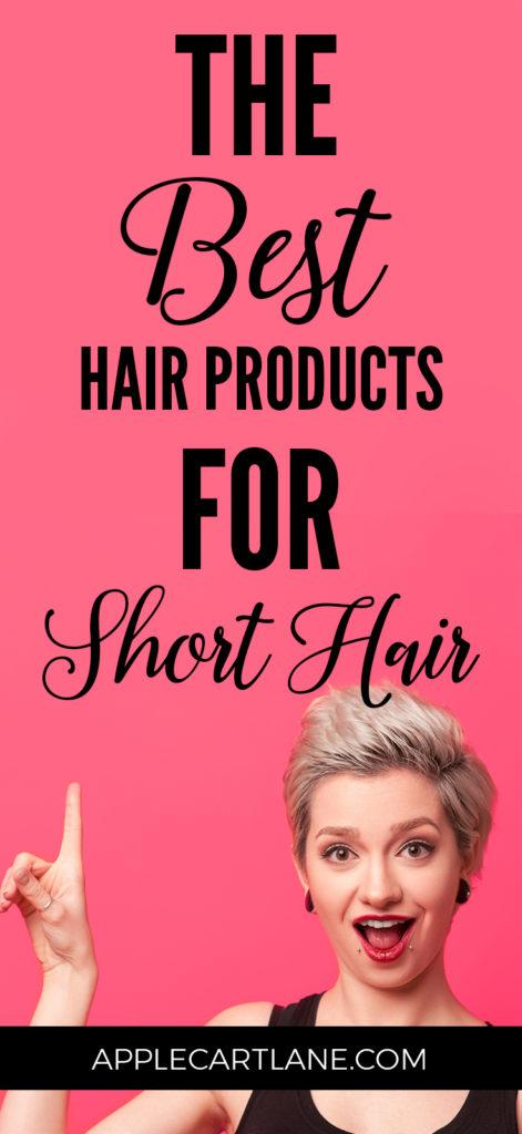 The Best Short Hair Products Applecart Lane