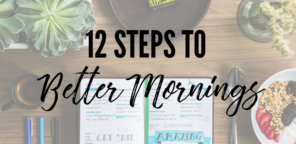 How to Rock Your Morning Routine as a Working Mom
