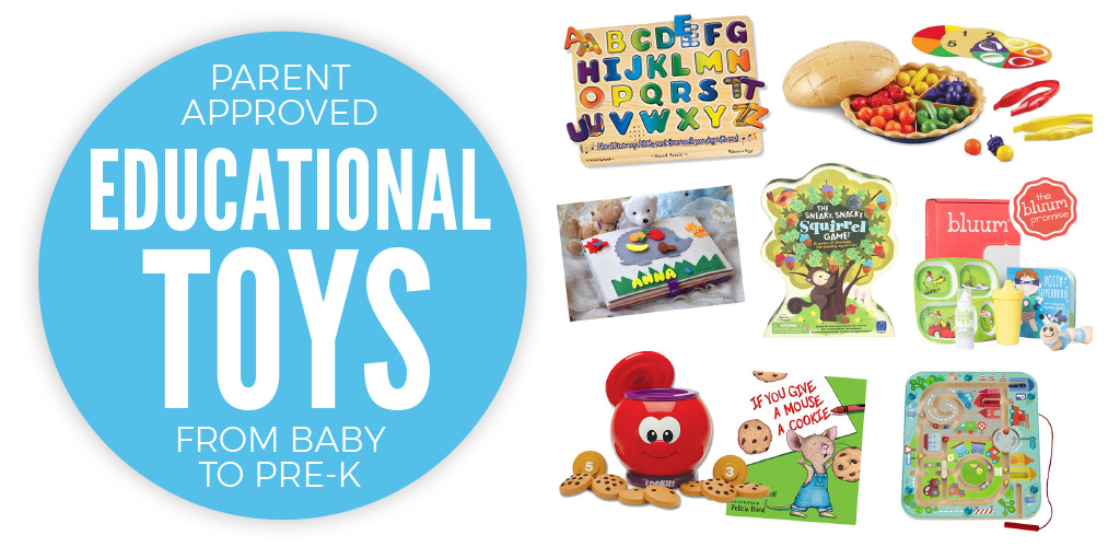 Gift Like a Smart Person : Educational Toys for Babies, Toddlers and Pre-K's