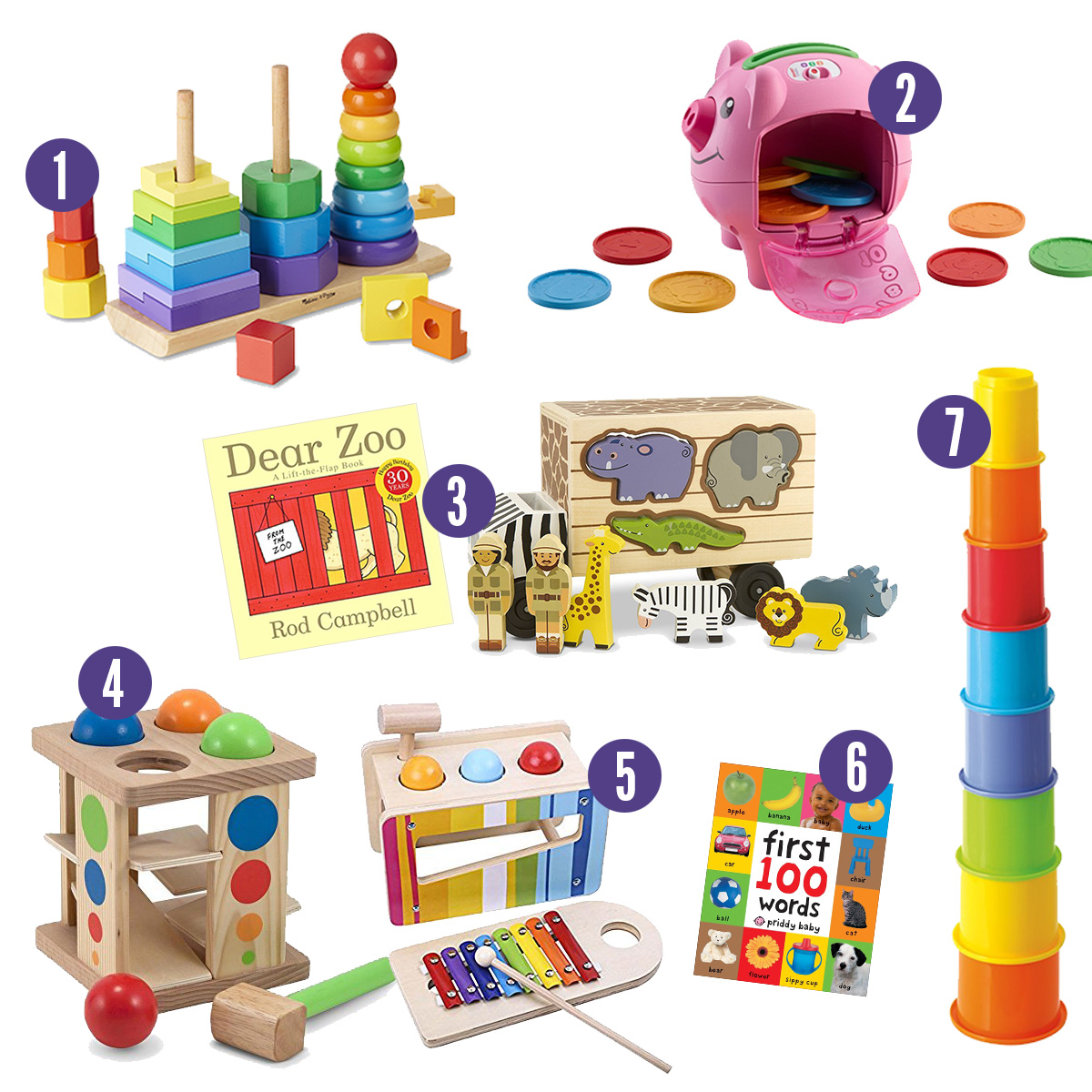 Gift Like A Smart Person Educational Toys For Babies Toddlers And Pre K S Applecart Lane