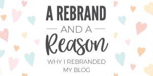 A Rebrand and a Reason